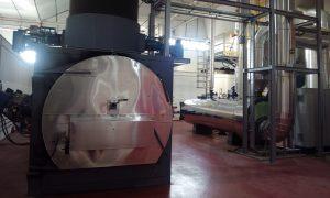 Incineradora de residuos citotóxicos